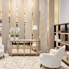 Luxury Dining Room, Luxury Rooms, Luxury Homes Interior, Home Interior Design, Interior Decorating, Modern Interior, Modern Furniture, Living Room Sofa Design, Living Room Designs