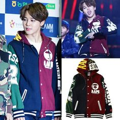 BTS JIMIN Baseball Coat