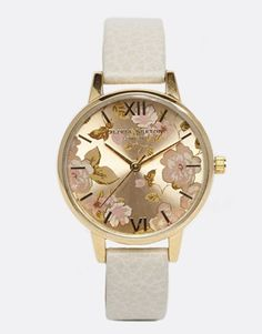 Image 1 of Olivia Burton Mink Floral Watch