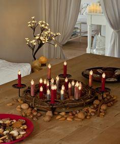 Holen Sie sich festliche Beleuchtung nach Hause. Und das Beste daran: ohne Brandgefahr und Kabelsalat. #HSE24 #decor #christmas