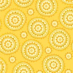 Woodcut Yellow ~ Multi Black ~ Chickadee @ sew, mama, sew! Sew,Mama,Sew! #FatQuarterIdol meet me at the picnic #2 - 12 fat quarters in meet me at the picnic theme for sew, mama, sew! contest