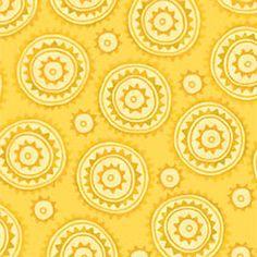 Woodcut Yellow ~ Multi Black ~ Chickadee @ sew, mama, sew! Sew,Mama,Sew! #FatQuarterIdol meet me at the picnic #2 - 12 fat quarters in meet me at the picnic theme for sew, mama, sew! contest