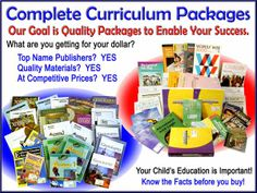 Complete Curriculum Packages for the Christian Homeschooler