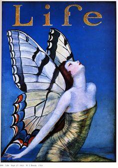 Vintage magazine. Art Deco.