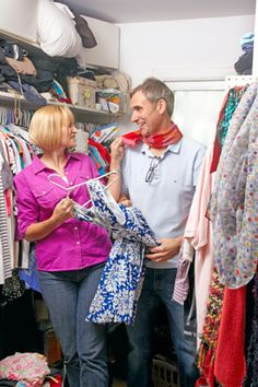Sharing a Closet With Your Spouse - Organize Your Closet Quickly - Oprah.com