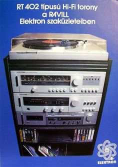 Lps, Radios, Audio Stand, Budapest Hungary, Sound Of Music, Illustrations And Posters, Tech Gadgets, Retro, Techno