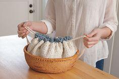 Crocheted Bread Warmer by Kim Cameron