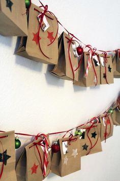 DIY: Adventskalender aus Butterbrottüten