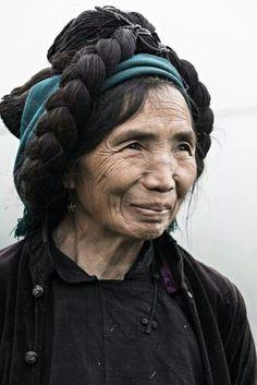 Ha Nhi minority in Y Ty, Vietnam by Rehahn Photography