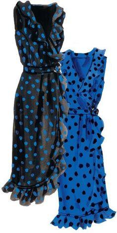 Eccentricity Polka Dot Dress | The J. Peterman Company