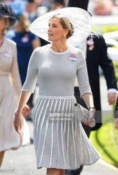 Sophie, Countess of Wessex attends day 3, Ladies Day, of Royal Ascot at Ascot Racecourse on June 18, 2015 in Ascot, England. (Photo by Max Mumby/Indigo/Getty Images)