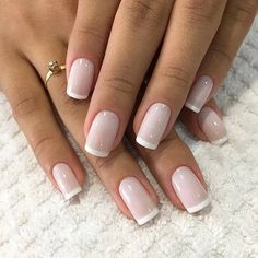 Noel Torphy Runway fashion french Nails, gel Nails, black Nails, ombre Nails, prom Na French Toe Nails, French Manicure Nails, Manicure E Pedicure, Shellac Nails, Nail Polish, Nail French, Short French Nails, French Pedicure, Stiletto Nails