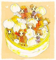APH Hetalia - Xiao long bao (Chinese soup dumplings) were most likely born in Nanxiang, outside Shanghai, around 1875. Although they can still be found there, it is in Taiwan that they began their global takeover.  Taiwanese restaurants grew, expanding first to Japan and then to Arcadia.