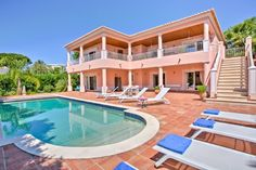Holiday Villas Western Algarve 8 people » Villa Chardon Praia