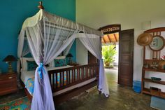 Chambre bleue Villa Sepalika - Galle