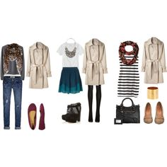 Joyful Outfits: How to wear : Trench coat