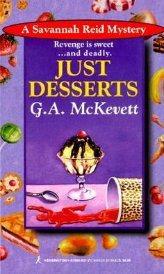 Detective Sergeant Savannah Reid is in her element cruising for crime in Southern California. But when she's told she's too fat to stay on the force, Savannah opens up her own detective agency and soon finds herself investigating a murder. Just Desserts (A Savannah Reid Mystery #1)