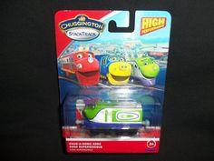 Chuggington Train Chug-A-Sonic Koko Supersonique StackTrack Tomy Free Shipping #TOMY