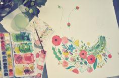 work in progress by oanabefort, via Flickr