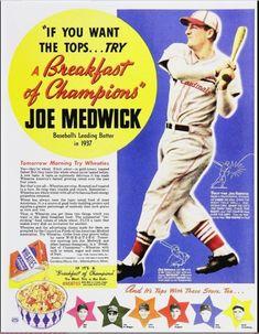 Retro Ads, Vintage Advertisements, Vintage Ads, Vintage Food, Nationals Baseball, Sports Baseball, Baseball Stuff, Sports Art, Baseball Posters