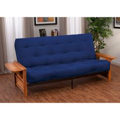 EpicFurnishings Bellevue with Retractable Tables Transitional-style Queen-size Inner Spring Futon Sofa Sleeper Bed