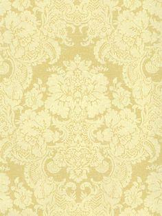 Golden Yellow Damask Wallpaper SM8501 #York