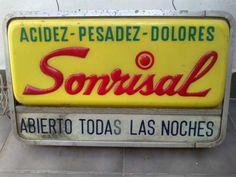 Antiguo Cartel De Farmacia Publicidad Sonrisal Unico - $ 3.300,00 Nostalgia, Epoch, My Memory, Retro Vintage, Advertising, Celebrities, Blog, Medicine, Old Advertisements