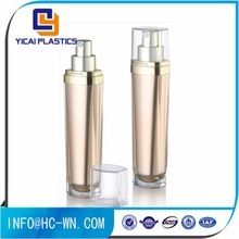 Wholesale various color luxury filling cosmetic lotion bottle