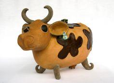 """""""Cow pot"""". Ineke van Eden"""