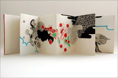 "accordion book - ""Shanghai Accordion Book Dream Diary"" by Peter Gerakaris"