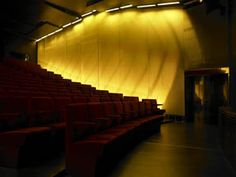 Martin Architectural Lights Barcelona's Agbar Auditorium Auditorium Architecture, Opera House, Stairs, Lights, Building, Home Decor, Stairway, Decoration Home, Room Decor