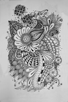 Zentangle 4: Pam's Tangles