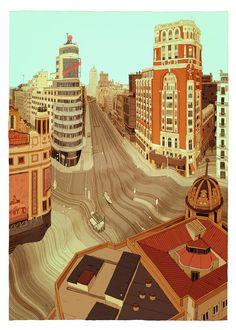 Jon Juárez dibuja mientras llueve | Singular Graphic Design