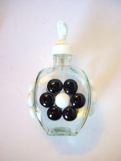 Unique Soap Pump Glass Dispenser Lotion Dispenser by BuzyBeeBlooms