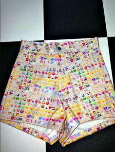 EMOJI SHORTS!!!! LOL!!!! Want these!!!