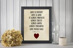 Etsy listing at https://www.etsy.com/listing/488451783/love-is-patient-printable-wall-art-home