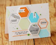 For Avital :) Fabulous card by LIsa S. Showcasing a great new stamp set by Avita!