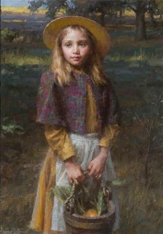 Well known for his paintings of early American pioneer life, Morgan Weistling began his art career as a movie-poster illustrator. Colorful Paintings, Beautiful Paintings, Morgan Weistling, Hyper Realistic Paintings, Figurative Kunst, Art Through The Ages, Cottage Art, Renoir, Portrait Art
