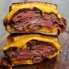 Leftover grilled tri tip sliced thinly with cheddar American 3 pepper Colby jack and caramelized onions. That's how I grilled cheese. I Love Food, Good Food, Yummy Food, Beef Recipes, Cooking Recipes, Beef Meals, Roast Beef Sandwiches, Cucumber Recipes, Food Cravings