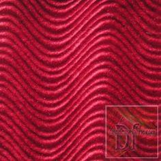 Red Wave Velveteen www.distinctivefabric.com