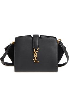 Saint Laurent Toy Cabas Leather Crossbody Bag