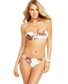 Feeling Beuge!  All lengths of board swimsuits in shades of the sea are making waves!  VINCE CAMUTO FLORAL-PRINT BIKINI BOTTOM WOMEN'S SWIMSUIT - Yadox http://yadox.com/product/vince-camuto-floral-print-bikini-bottom-womens-swimsuit/ #yadox #yadoxshop #fashion #style #swimsuit #lookatme #followme #glam #fashionweek #yadoxclub #vincecamuto