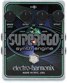 Electro-Harmonix Superego Polyphonic Synth Engine Pedal