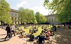 Humboldt University, Berlin, welcomes students from around the