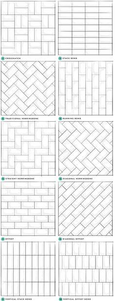 Subway Tile Designs Inspiration (A Beautiful Mess)