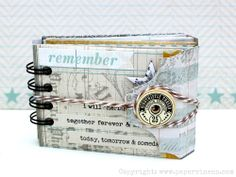 tutorial: envelope mini - simple coin envelopes & matted photos topped with stapled photo tabs