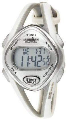 Timex Women's T5K026 Ironman Sleek Digital Resin Strap Watch