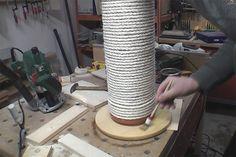 Kratzssäule oder Kratzbaum selber bauen