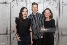 Zoe Lister-Jones, Daryl Wein, and Beth Grant attend at AOL Studios In New York on November 20, 2015 in New York City.