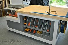 49 Free DIY Workbench Plans & Ideas to Kickstart Your Woodworking Journey #WoodworkingPlansWorkshop
